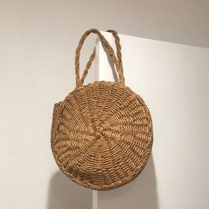Handbags - Straw boho beach bag